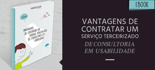 Ebook: Vantagens de contratar um serviço terceirizado de consultoria e usabilidade